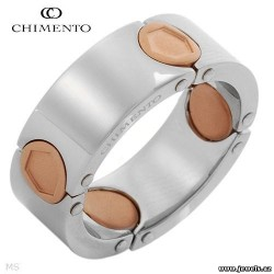 CHIMENTO UOMO JACK Collection Made in Italy Dazzling Brand New Gentlemens Ring