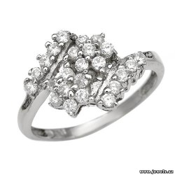 Superb Brand New Ring With 1.00ctw Cubic zirconia Beautifully Crafted in 925 Sterling silver